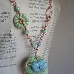 Summer Bird Necklace and Bracelet S..