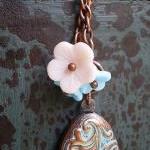 Summer Love Locket Necklace