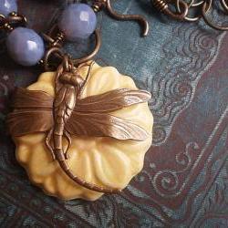 Dragonfly Garden Necklace
